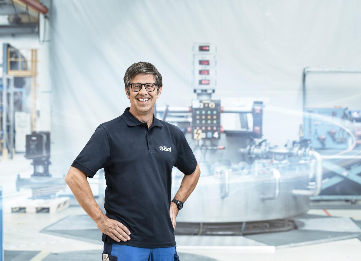 Melchior Zürcher, Hoofd Productie en Logistiek